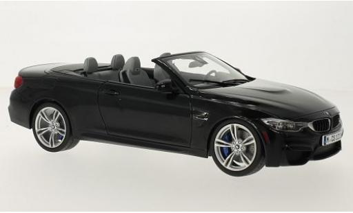 Bmw M4 1/18 Paragon (F83) Cabriolet black diecast model cars