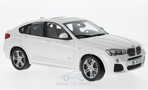 Bmw X4 F26 1/18 Paragon BMW (F26) metallic-white diecast