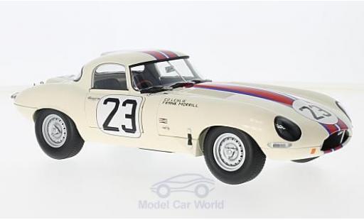 Jaguar E-Type 1/18 Paragon Lightweight No.23 Kjell Qvalle (USA) Sebring 1963 E.Leslie/F.Morrill diecast
