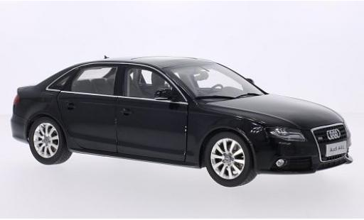 Audi A4 1/18 Paudi L (B8) metallise noire 2011 miniature