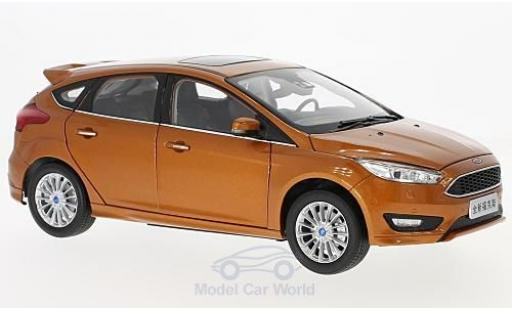 Ford Focus 1/18 Paudi MK III metallic-orange 2015 miniature