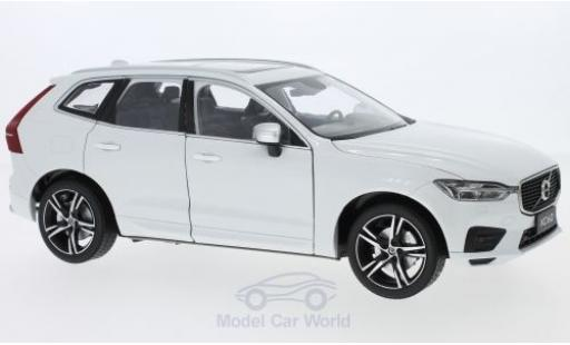 Volvo XC 1/18 Paudi 60 R white 2018 diecast model cars