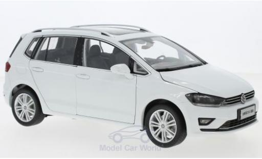 Volkswagen Golf 1/18 Paudi Sportsvan white 2018 diecast model cars