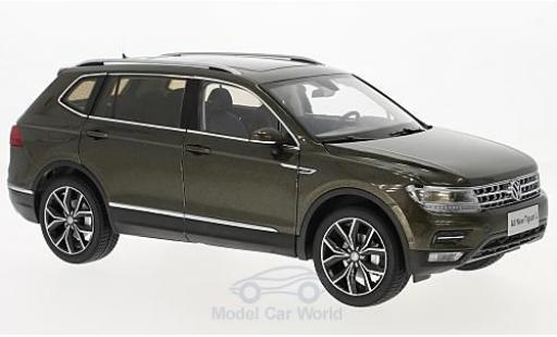 Volkswagen Tiguan 1/18 Paudi L métallisé marron 2017 miniature