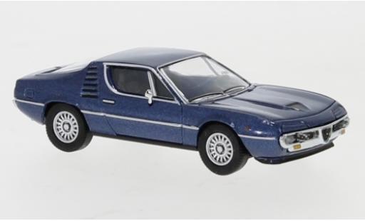 Alfa Romeo Montreal 1/87 PCX87 metallise bleue 1970 miniature