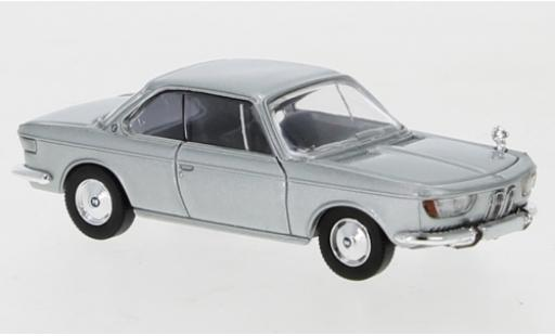 Bmw 2000 1/87 PCX87 CS grey 1965 diecast model cars
