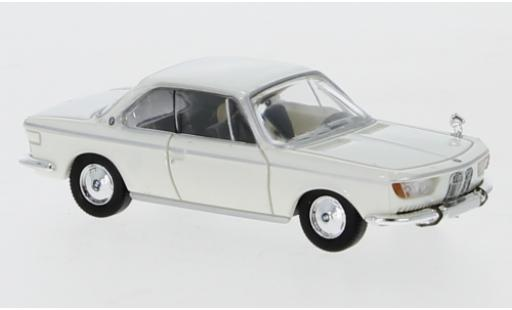 Bmw 2000 1/87 PCX87 CS white 1965 diecast model cars