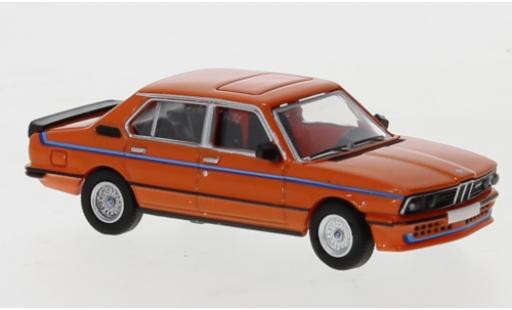 Bmw M5 1/87 PCX87 35i (E12) orange 1980 Exklusiv bei Model Car World diecast model cars