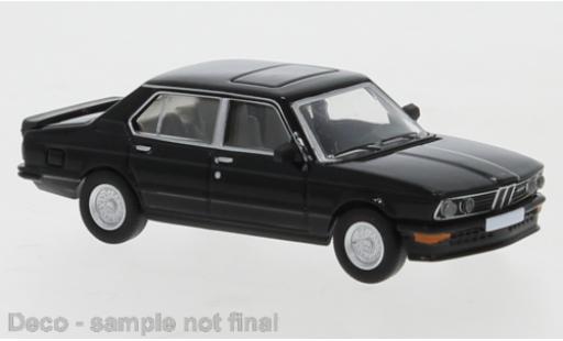 Bmw M535 1/87 PCX87 i (E12) noire 1980 miniature