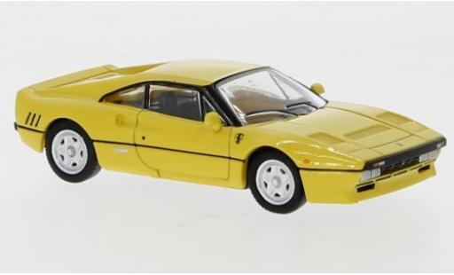 Ferrari 288 1/87 PCX87 GTO yellow 1984 diecast model cars