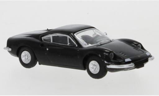 Ferrari Dino 1/87 PCX87 246 GT black 1969 diecast model cars