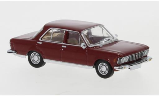 Fiat 130 1/87 PCX87 red 1969 diecast model cars