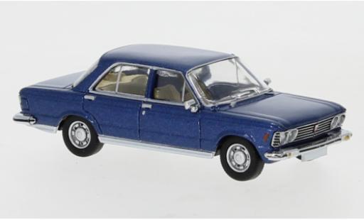 Fiat 130 1/87 PCX87 metallise blue 1969 diecast model cars