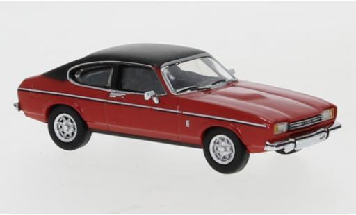 Ford Capri 1/87 PCX87 MK II rouge/matt-noire 1974 miniature