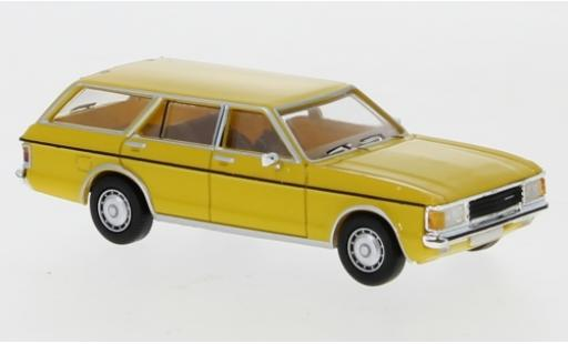 Ford Granada 1/87 PCX87 MK I Turnier jaune 1974 miniature