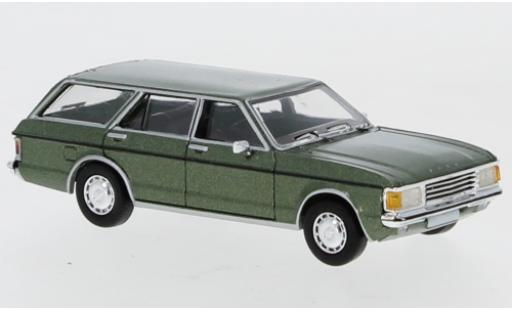 Ford Granada 1/87 PCX87 MK I Turnier metallise verte 1974 miniature