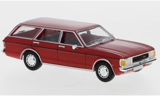 Ford Granada 1/87 PCX87 MK I Turnier rouge 1974 miniature