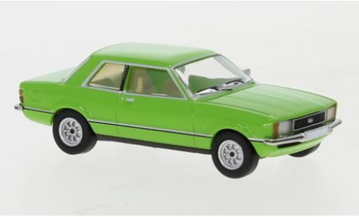 Ford Taunus 1/87 PCX87 TC2 verte 1976 miniature