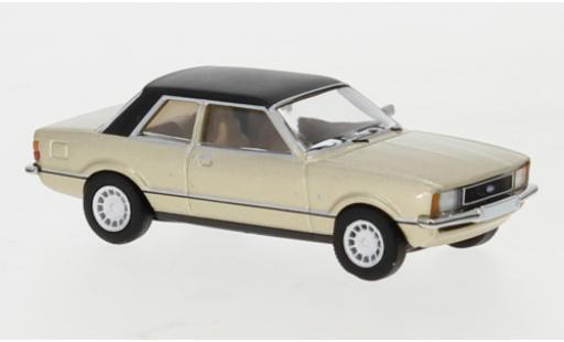 Ford Taunus 1/87 PCX87 TC2 metallise beige/matt-black 1976 diecast model cars