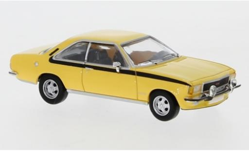Opel Commodore 1/87 PCX87 B Coupe jaune 1972 miniature
