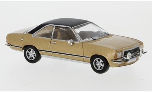 Opel Commodore 1/87 PCX87 B Coupe metallise marron/matt-noire 1972 miniature