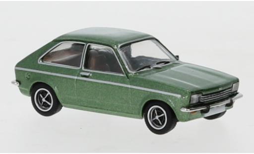 Opel Kadett 1/87 PCX87 C City metallise verte 1975 miniature