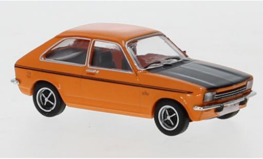 Opel Kadett 1/87 PCX87 C City orange/matt-noire 1975 miniature