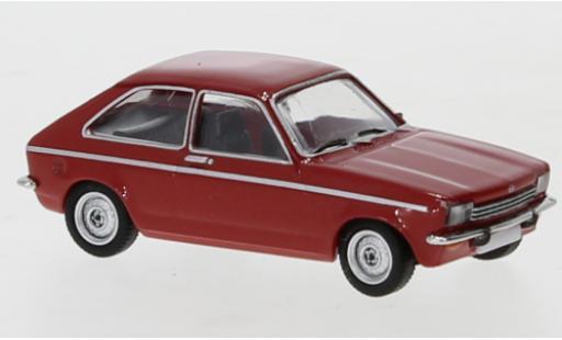 Opel Kadett 1/87 PCX87 C City rouge 1975 miniature