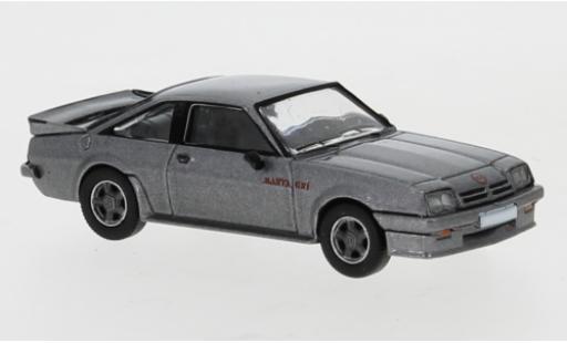 Opel Manta 1/87 PCX87 B GSI metallise grise 1984 miniature