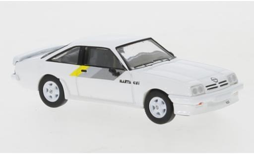 Opel Manta 1/87 PCX87 B GSI blanche 1984 miniature