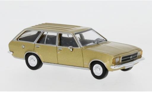 Opel Rekord 1/87 PCX87 D Caravan gold 1972 miniature