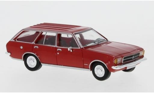Opel Rekord 1/87 PCX87 D Caravan rouge 1972 miniature