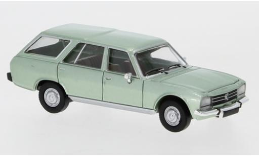 Peugeot 504 1/87 PCX87 Break metallise green 1978 diecast model cars