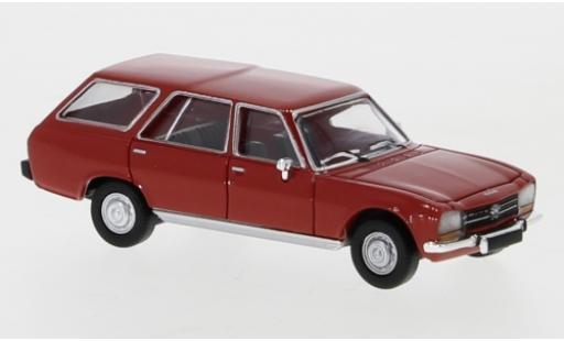 Peugeot 504 1/87 PCX87 Break red 1978 diecast model cars