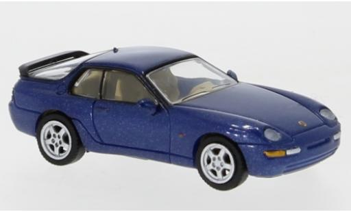 Porsche 968 1/87 PCX87 metallise bleue 1991 miniature