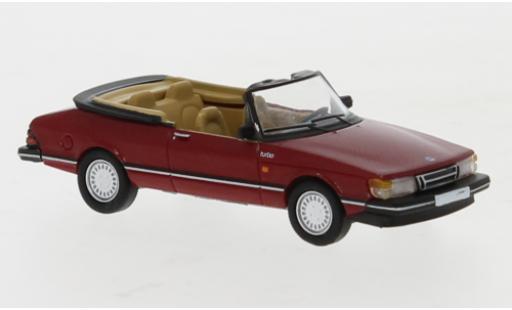 Saab 900 1/87 PCX87 Cabriolet rouge 1986 miniature