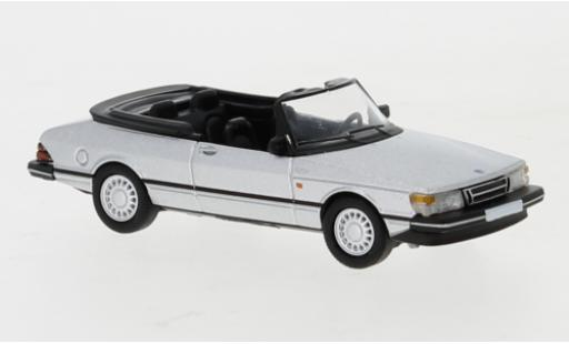 Saab 900 1/87 PCX87 Cabriolet grise 1986 miniature