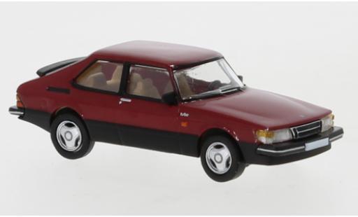 Saab 900 1/87 PCX87 Turbo rouge 1986 miniature
