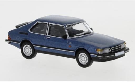 Saab 900 1/87 PCX87 Turbo metallise bleue 1986 miniature