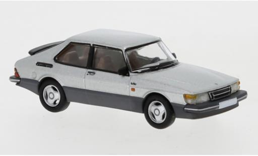 Saab 900 1/87 PCX87 Turbo grise 1986 miniature