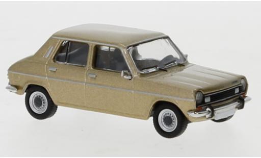 Simca 1100 1/87 PCX87 gold 1975 miniature
