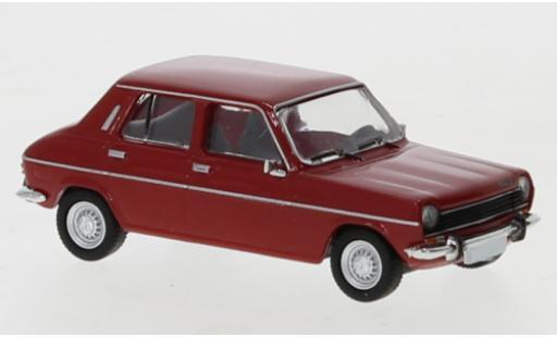 Simca 1100 1/87 PCX87 rouge 1975 miniature