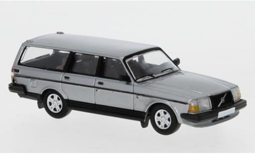 Volvo 240 1/87 PCX87 GL Kombi metallise grise 1989 miniature