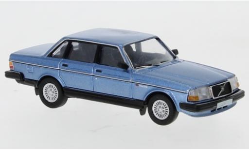 Volvo 240 1/87 PCX87 metallise bleue 1989 miniature