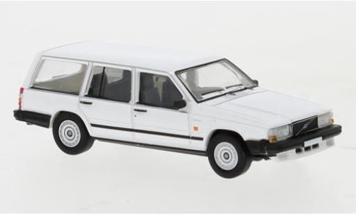 Volvo 740 1/87 PCX87 Kombi blanche 1985 miniature