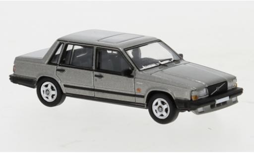 Volvo 740 1/87 PCX87 metallise grise 1984 miniature