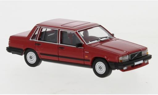 Volvo 740 1/87 PCX87 rouge 1984 miniature