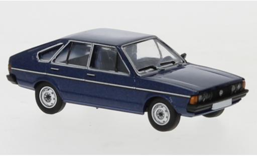 Volkswagen Passat 1/87 PCX87 B1 metallise blue 1977 diecast model cars