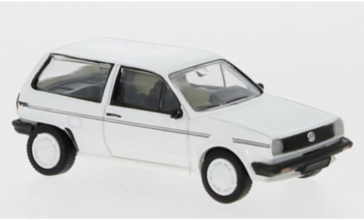 Volkswagen Polo 1/87 PCX87 II Fox blanche/Dekor 1985 miniature