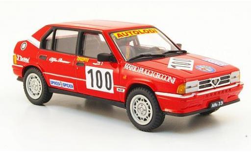 Alfa Romeo 33 1/43 PEGO No.100 1991 coche miniatura